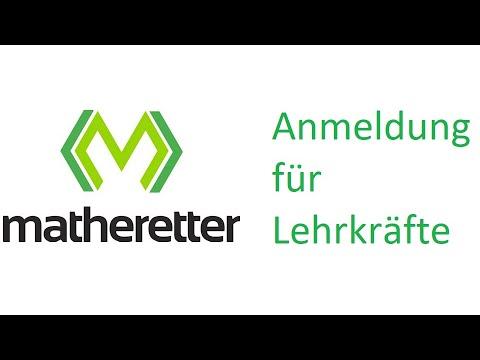 Matheretter - Anmeldung für Lehrkräfte