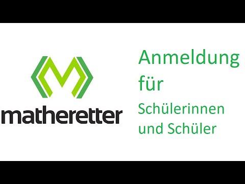 Matheretter - Anmeldung für Schülerinnen und Schüler