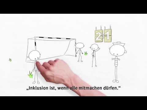 Inklusion in 80 Sekunden erklärt (barrierefreie Version) - www.leichte-sprache.com