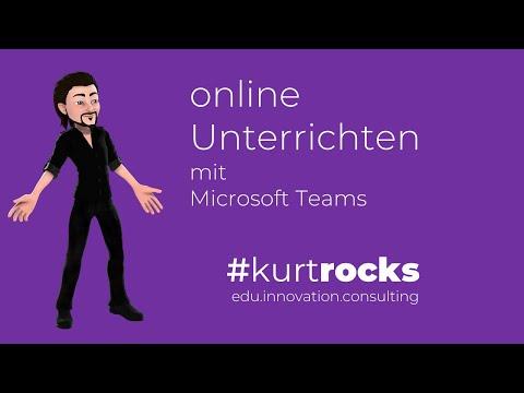 Online Unterrichten mit MS Teams